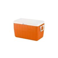 Caixa térmica coleman 48 qt tangerine tango