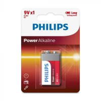 Bateria philips power akaline 9 v x1
