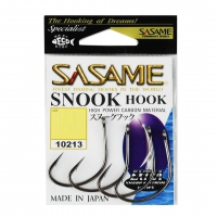 ANZOL SASAME SNOOK HOOK BLACK