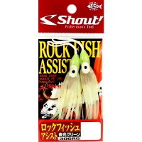 Suporte hook shout 306rg rock fish assist glow