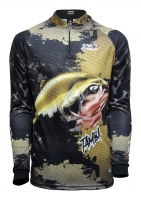 Camiseta rkf action fish 50 uv tamba
