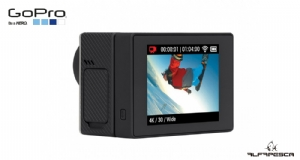 Tela lcd touch bacpac gopro