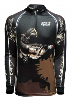Camiseta rkf action fish 50 uv traira