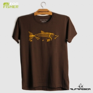 Camiseta for fisher dourado tribal