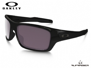 ÓCULOS OAKLEY TURBINE POLISHED BLACK - PRIZM DAILY POLARIZED