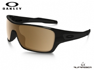 ÓCULOS OAKLEY TURBINE ROTOR POLISHED BLACK - TUNGSTEN IRIDIUM POLARIZED